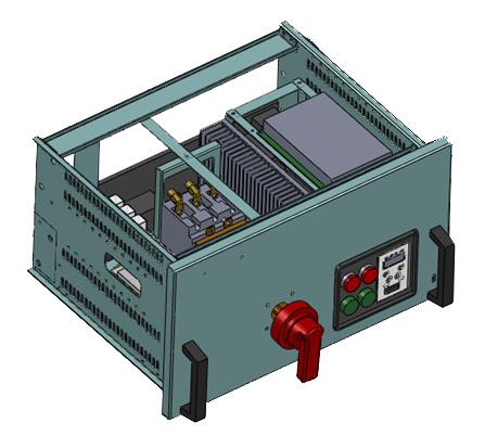 包括断路器,接触器,综合保护器,电流互感器,可控硅模块,主控制电路板